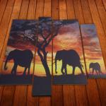 Разработка и печать модульных картин